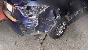 Sandy Springs couple thankful they're unharmed after a chaotic series of crashes along GA-400