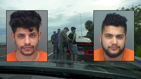 Street-racing suspects said they were speeding because they were hungry, troopers say