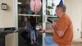Georgia retired nurse, son celebrate shared birthday as she fights COVID-19