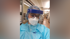 Local registered nurse fighting pandemic across multiple states