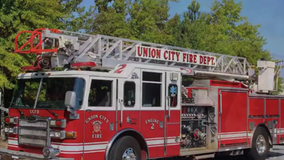 Fulton County firefighters compete in video challenge to promote 2020 census