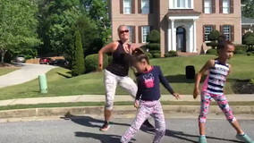 Family gets others moving in quarantine through daily Zumba class