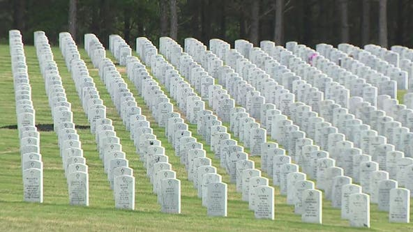 Funerals with full military honors on hold at Georgia National Cemetery due to COVID-19