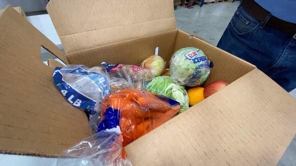 Food bank distributing produce, milk to Georgia families in need