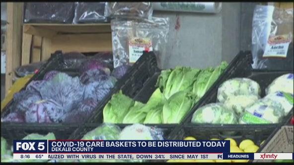 DeKalb County giving away food