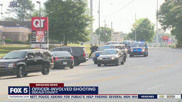 Officer-involved shooting in DeKalb County