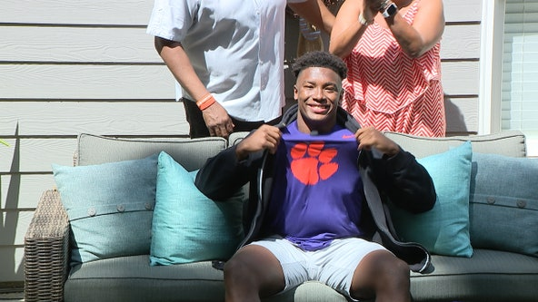 4-Star Linebacker Barrett Carter commits to Clemson on FOX 5 Atlanta
