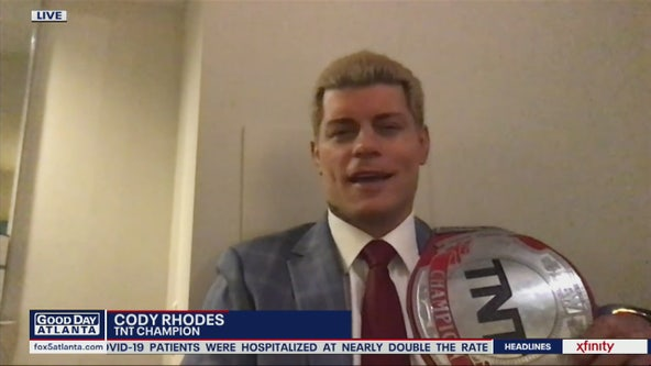Cody Rhodes talks about being TNT Champion