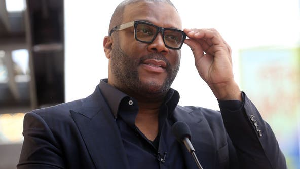 Tyler Perry urges Atlanta protesters to 'please stop the violence'