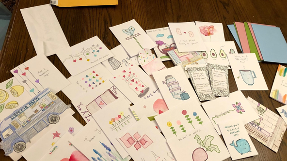 Georgia pharmacist spreads joy with handmade cards