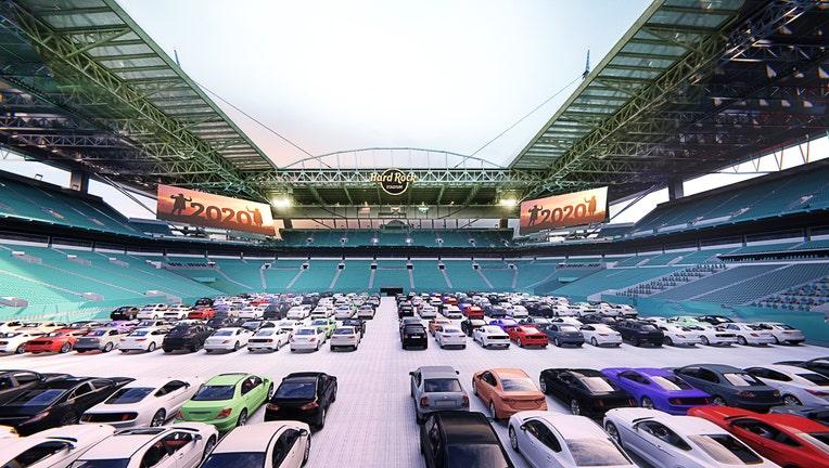 5 - Drive-In Inside Stadium