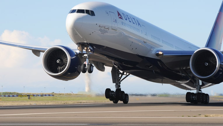 Delta Air Lines first flight from Sydney to Los Angeles