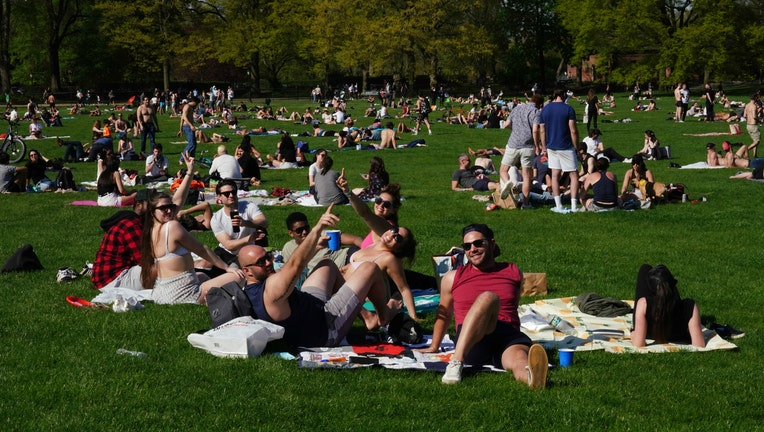 New York City on May 2 2020