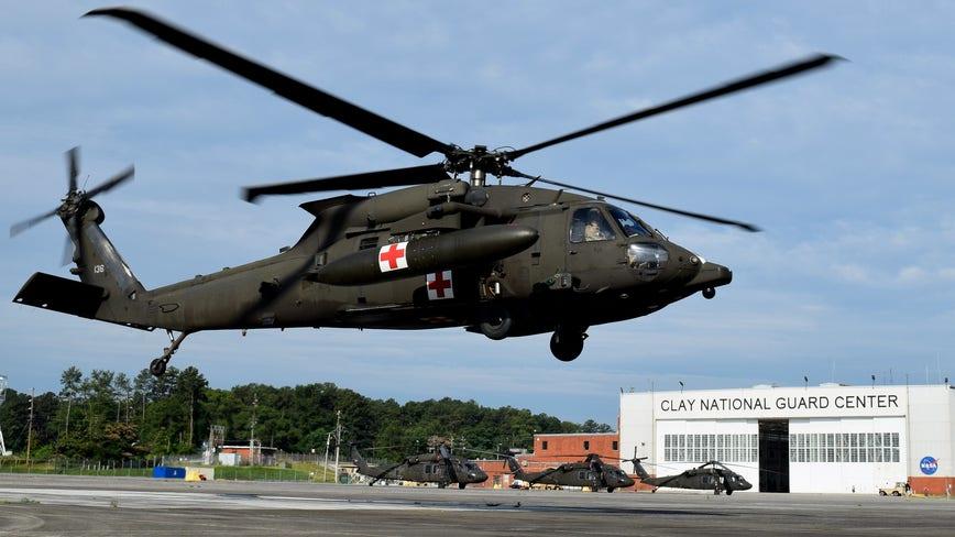 Georgia National Guard honoring fallen with Memorial Day flyover
