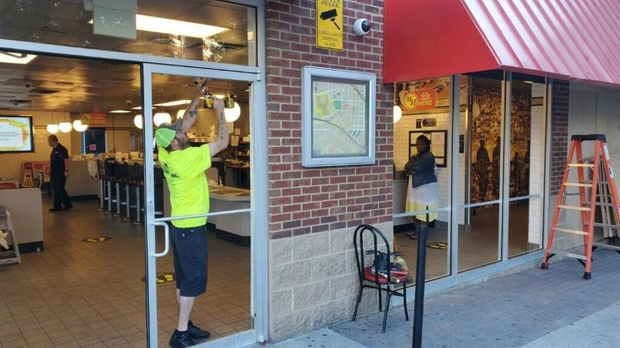 Kemp: Downtown Waffle House damaged in riots opening for business