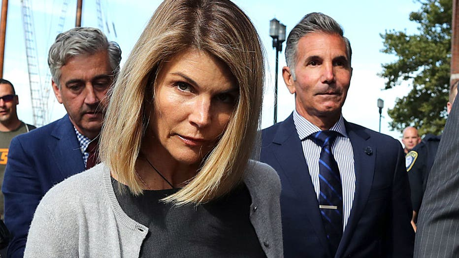 Lori Loughlin, Mossimo Giannulli Appear In Boston Courthouse