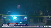 Man shot and killed in truck
