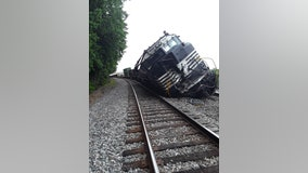 Major traffic delays after train derails in downtown Duluth