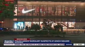 Nike Town in Buckhead burglarized, 7 people arrested
