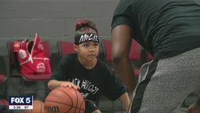 6-year-old basketball player becomes viral sensation
