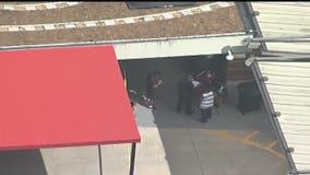 Officials: 1 dead, 4 hurt after car crashes into Piedmont Hospital