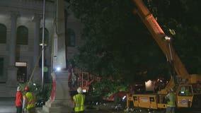 Crews remove Confederate monument from Decatur Square