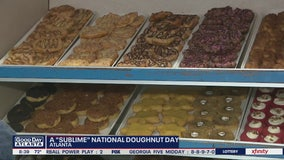 Celebrating National Doughnut Day at Sublime Doughnuts