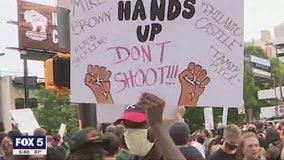 Atlanta protestors line up to get tested for coronavirus