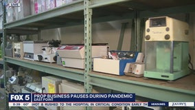 Prop business pauses during pandemic