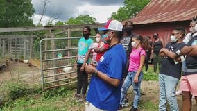 Fairburn couple shares farming lessons with young people