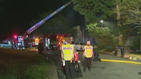 Roswell firefighters save senior citizen from burning home