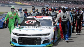 NASCAR race begins after show of support for Bubba Wallace