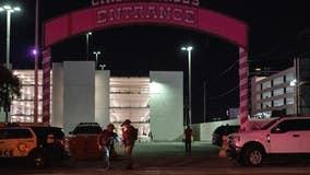 Las Vegas police officer shot outside casino