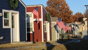Tiny houses in Kansas City give homeless veterans a place to call home