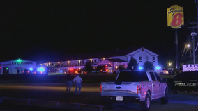 Police officer fatally shot at Alabama motel; 2 in custody