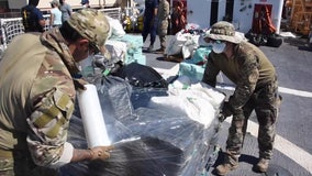 Coast Guard unloads more than 3 tons of cocaine in Florida