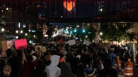 Protesters seize on death of Ohio woman, 22, despite questions