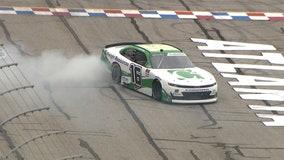 Oval master:  Allmendinger wins on NASCAR oval for 1st time