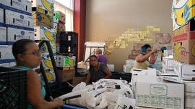 Food pantries have food, now they need volunteers to help distribute it