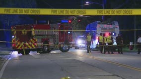 MARTA official: Woman injured after bus brakes to avoid downed cable