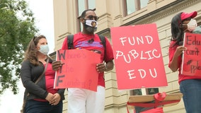 Georgia teachers ask state lawmakers to preserve education funding