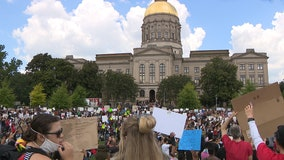 Thousands participate in faith-based march to Georgia State Capitol
