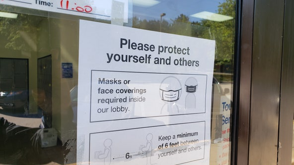 Unmasked postal clerk calls cops in dispute over whether masks are 'required' or 'recommended' inside