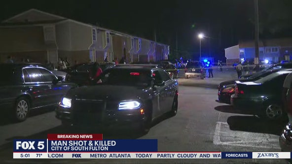 Man found dead in South Fulton parking lot