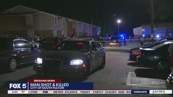Man found dead in South Fulton parking lot