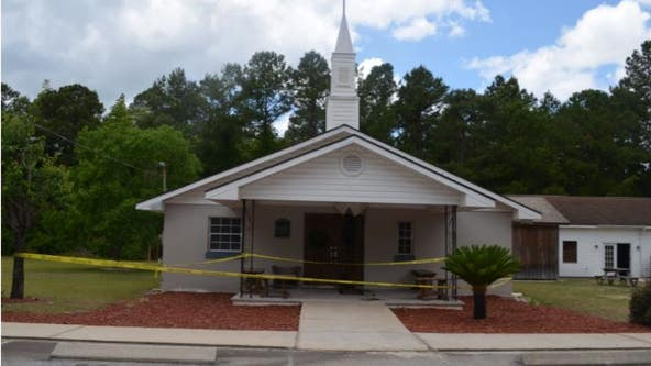 Charlton County church fire ruled arson, reward offered for suspects