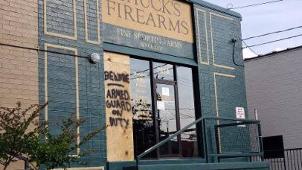 Dozens of guns stolen from Buckhead store while police are focused on protesters