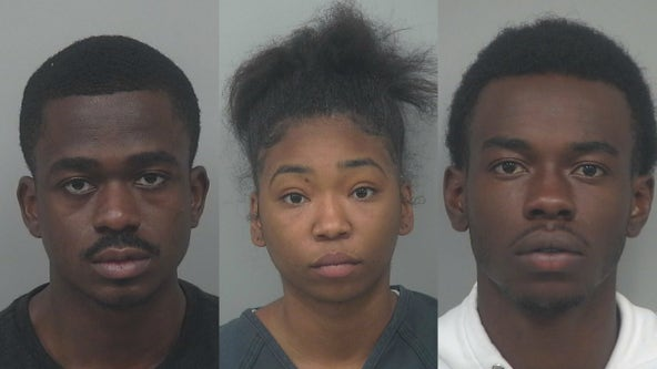 Police arrest suspects accused of damaging patrol cars