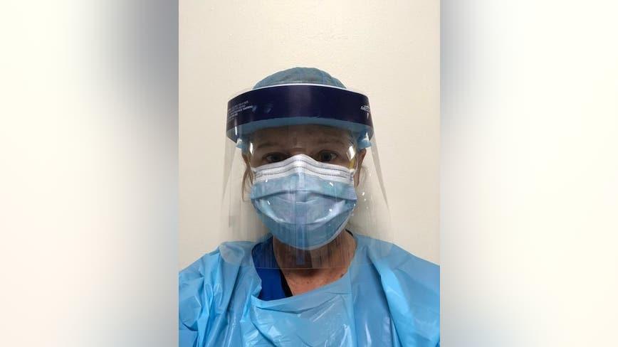 Nurse describes treating COVID-19 patients as a war zone
