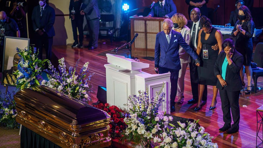 'Get your knee off our necks': Rev. Al Sharpton delivers powerful eulogy for George Floyd